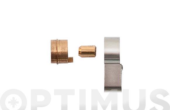 Extension modular 10 mm (set para cilindro vela) extensiones de cuerpo+rotor+llave