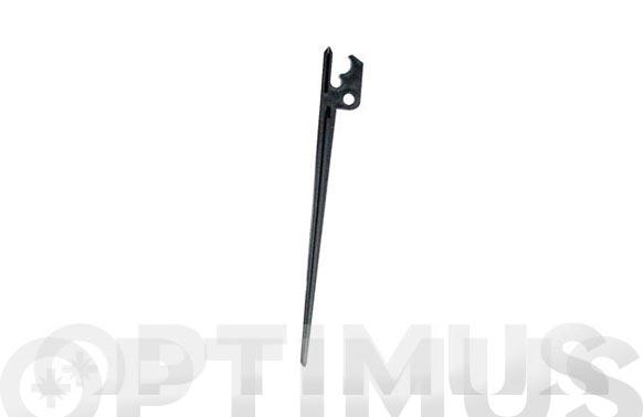 Soporte piqueta microtubo goteo 4mm (10 uds)