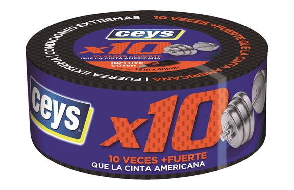 Cinta americana extrema x 10 18 m x 48 mm