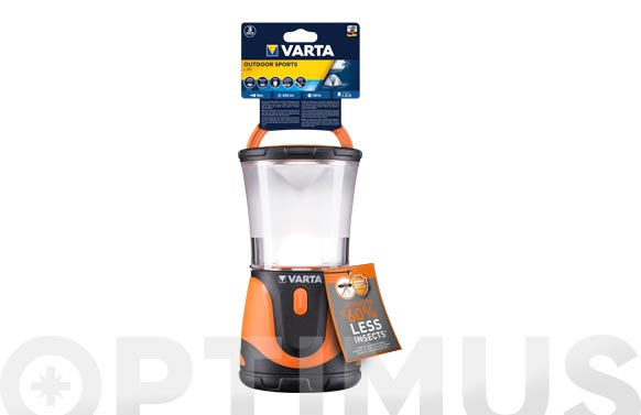 Linterna profesional line outdoor sports ambar 3d no incl
