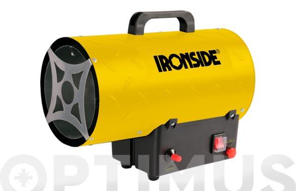 Calentador de aire portatil a gas 15 kw con asa de transporte