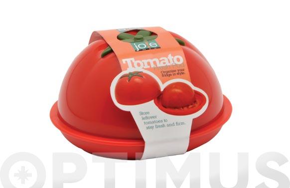 Contenedor guarda tomates