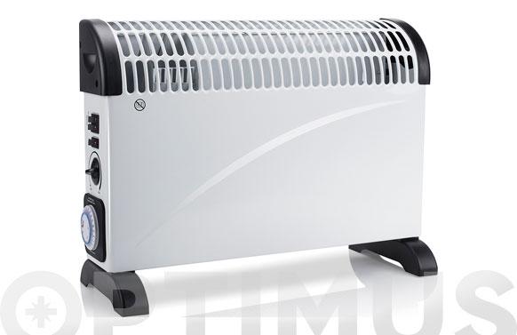 Convector turbo c/temporizador 750/1250/2000w