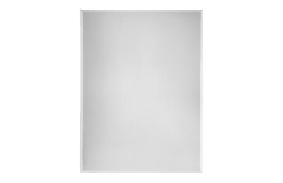 Espejo baño biselado mural 60 x 80 cm. instalación horizontal o vertical