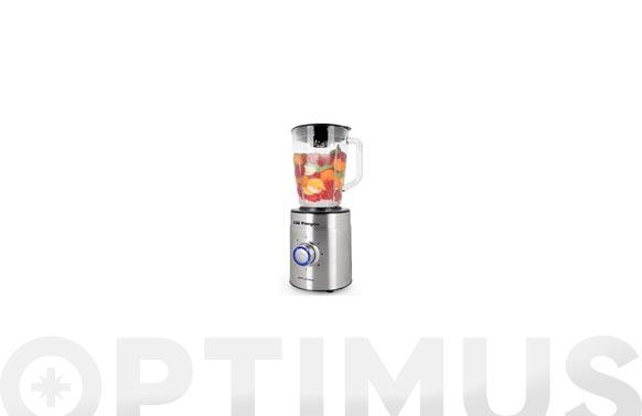 Batidora de vaso inoxidable 1250 w 1,5 l