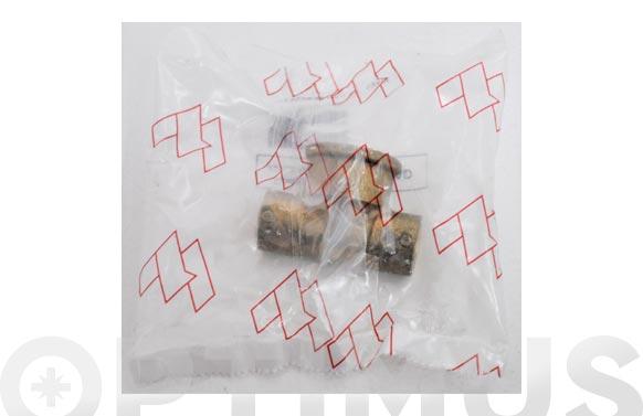 "Te mixta hembra laton/cobre 130g 15 mm x 1/2"""