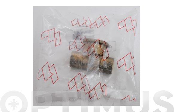 "Te mixta hembra laton/cobre 130g 18 mm x 1/2"""