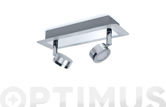 Plafon doble led para baño ip44