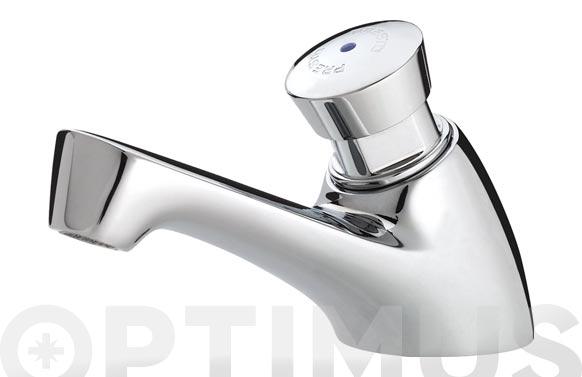 """Grifo lavabo 1 agua temporizado 605 m 1/2"""" cromo"""