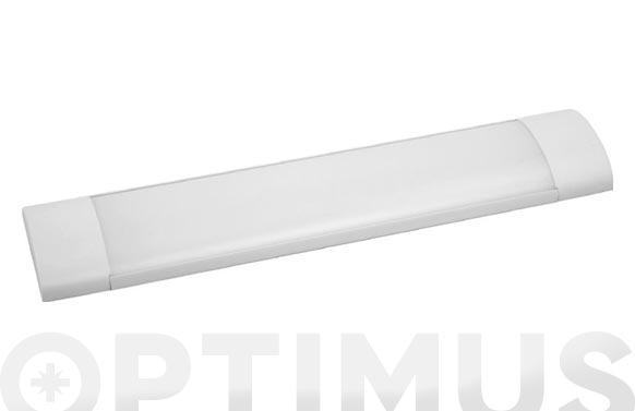 Regleta electronica led 61x12x3,1 cm 2200lm ip20 blanco 25w 6400k