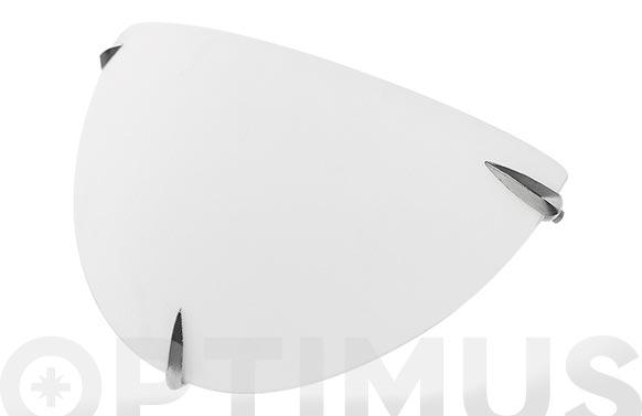 Plafon cristal ø30x18x8 cm e27 1 x 60w