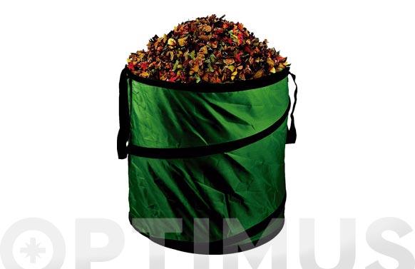 Saco bolsa jardin para residuos pop up 120lt