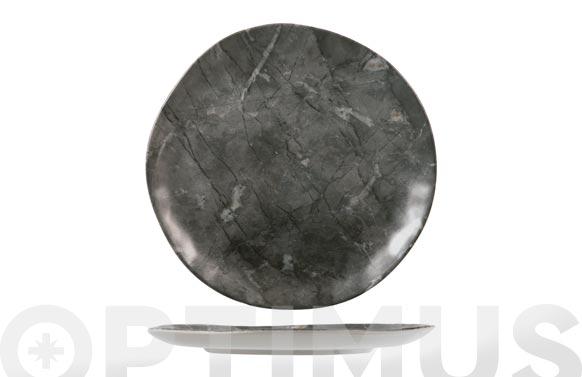Plato stoneware rock llano-26 cm
