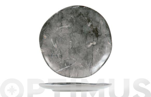 Plato stoneware rock postre-20 cm