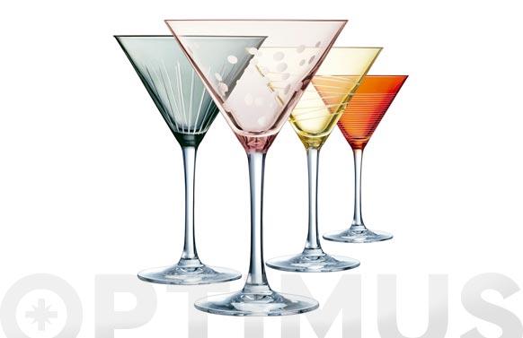 Copa illumination (set 4) colors cocktail-30 cl