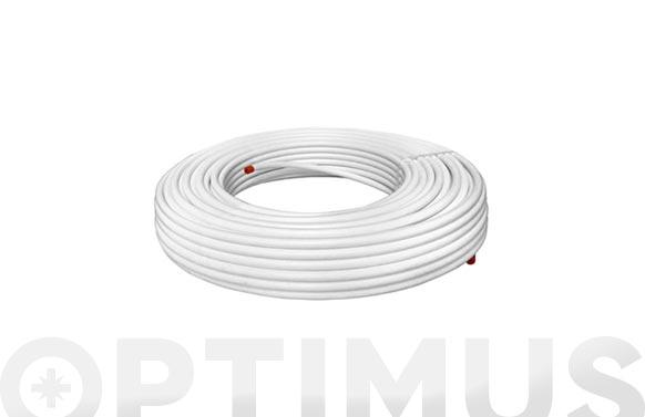 Tubo multicapa pert-al-pert 15 mt ø 16 x 2 mm