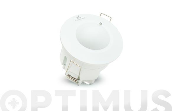 Detector de movimiento de techo 360. ø 76 x 75 mm