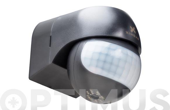 Detector de movimiento de pared 180. negro