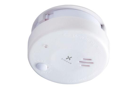 Detector de humo fotoelectrico bateria 9 v no incluida