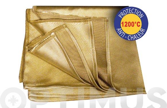 Manta de proteccion para soldadura 1,75x1,50 m 1200.c