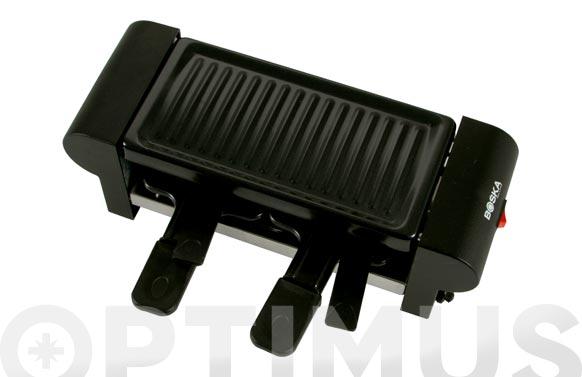Raclette mini inox 2p