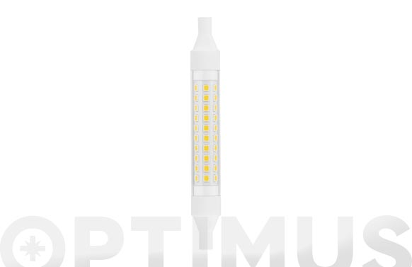 Lampara lineal led 360. r7s 118 mm 8 w luz fria