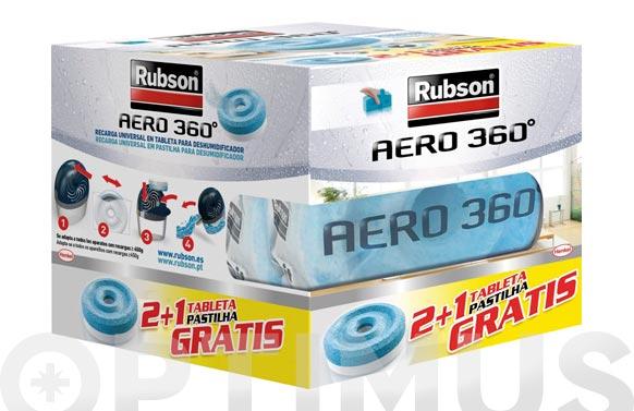 Recarga deshumidificador aero pack 3 uds