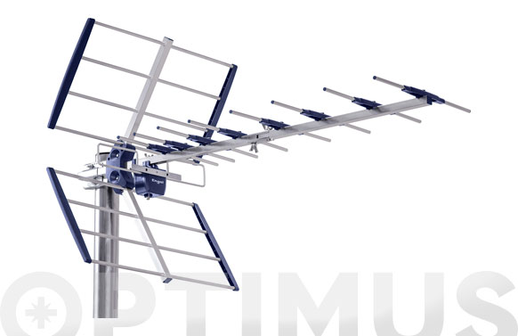 Antena terrestre exterior tdt anti 4g