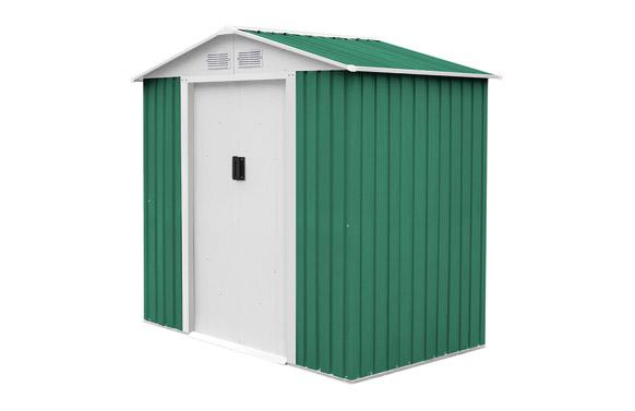 Caseta metalica yorkshire verde 2,43 m2