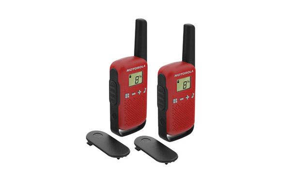 Intercomunicador walkie talkie t42 red pack