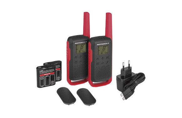 Intercomunicador walkie talkie t62 red pack