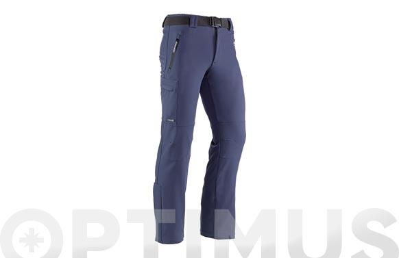 Pantalon multibolsillos snow t m marino