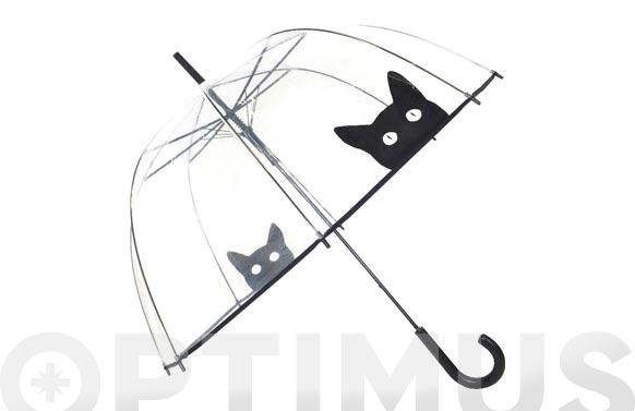 Paraguas señora automatico gato