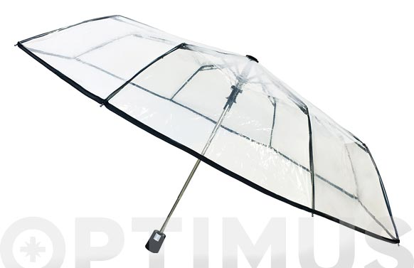 Paraguas plegable señora automatico basic