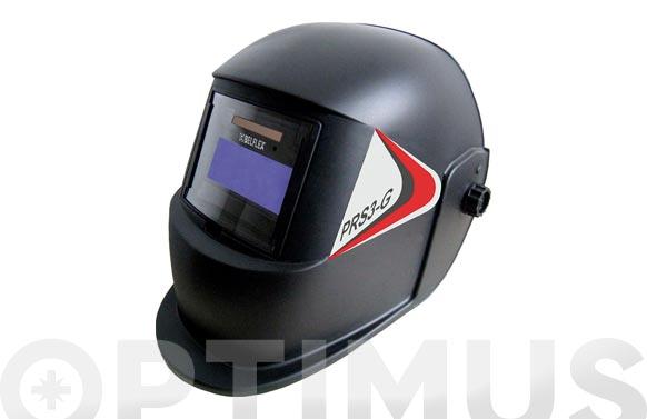"""Pantalla soldadura automática """"prs3-g"""" regulable con bateria reemplazable del óptico"""