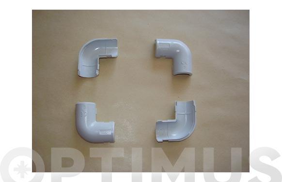Codo gris (15 uds) m-32
