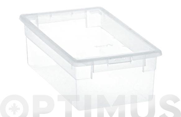 Caja multiusos light box transparente 5 l