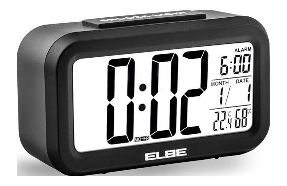 Reloj despertador  con termometro