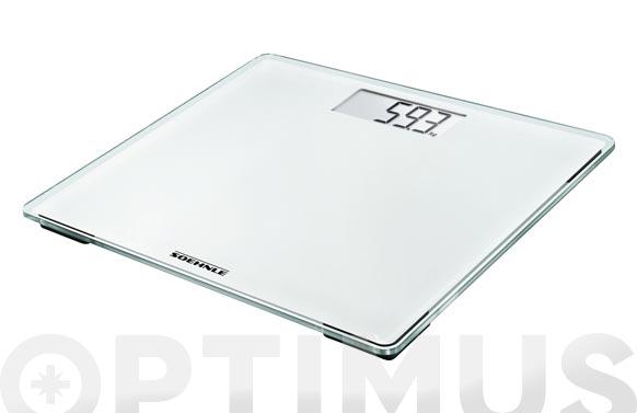 Bascula baño digital lcd blanco