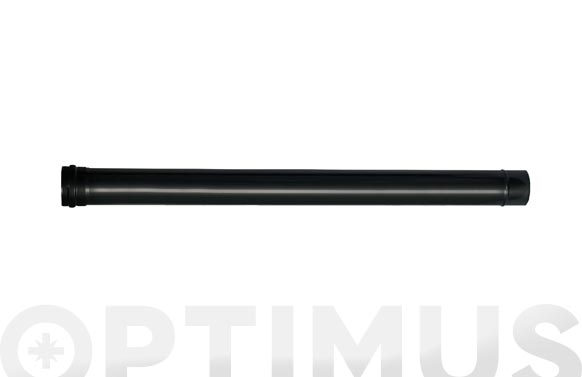 Tubo pared simple vitrificado mate pellet ø 80 x 1 mt