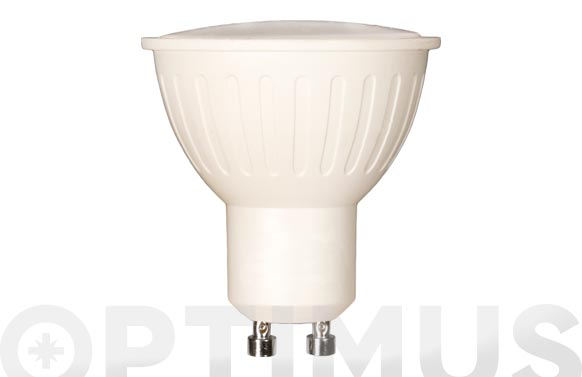 Lampara led dicroica 120. 400lm gu10 5w calida