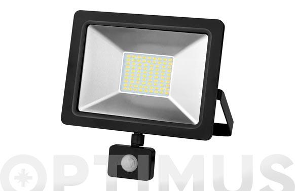 Foco proyector con sensor led 20 w 6500 k 2000 lm ip65