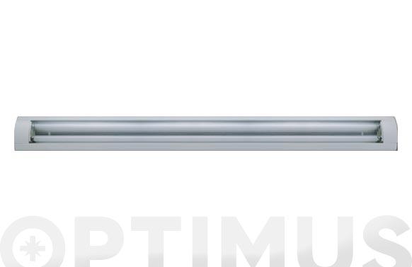 Regleta led amaltea blanco 2x18w