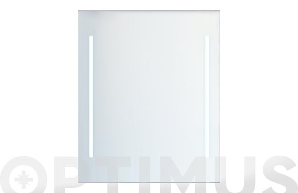 Espejo luminoso led 80 x 60 cm