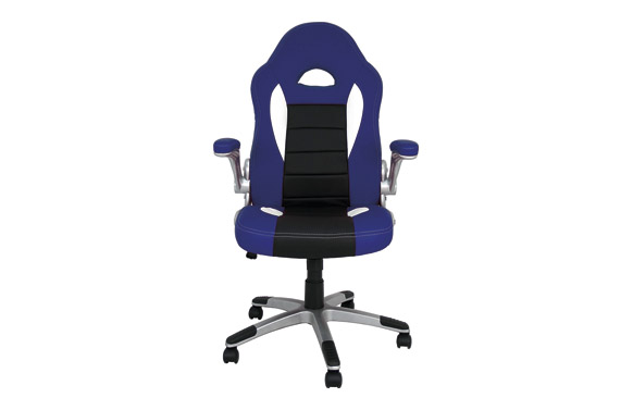Silla oficina gaming victoria azul / negro