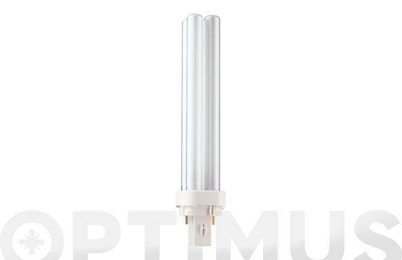 Lampara bajo consumo pl-c 26w g24d-3 fria (2p)