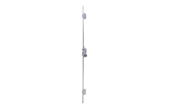 Cerradura seguridad embutir 3 puntos tlb3/30-30 largo inox