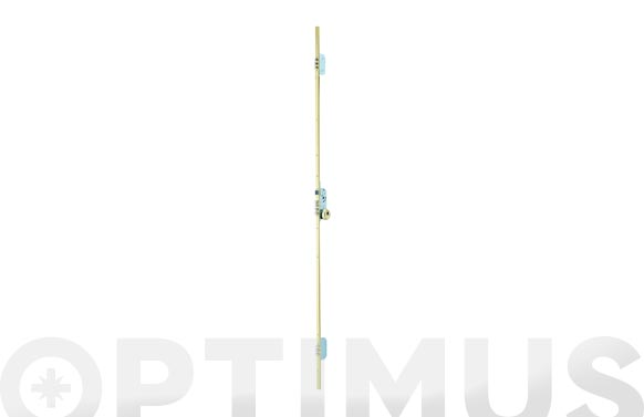Cerradura seguridad embutir 3 puntos tlb3/30-30 largo cromado