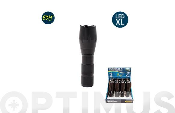 Linterna aluminio creexml-t6 140lm 3xaaa incluidas