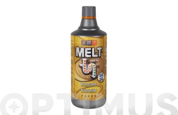 Desatascador accion rapida con acido sulfurico melt 1 litro